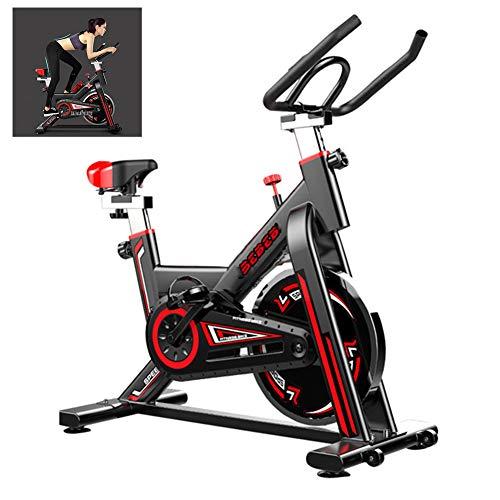 DNNAL Heimtrainer Indoor Cycling Bike Home Sports Trainer Geschwindigkeitswiderstand Stummschaltung Smart Exercise Bike Abnehmen Fitnessgeräte