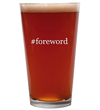 #foreword - 16oz Beer Pint Glass Cup