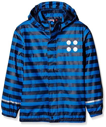 Lego Wear Jungen Jonathan 102-RAIN Jacket Regenjacke, Blau (Dark Navy 589), 146