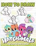 How to Draw Hatchimal: The 5 Minute Drawing Guide Hatchimal Crayola Creativity