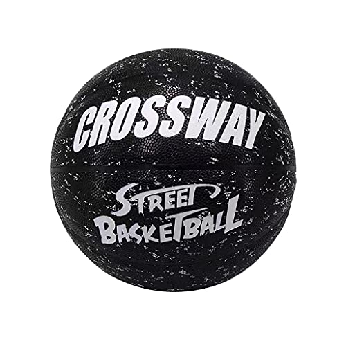 YCX Fancy Street Basketball Tamaño 7 Splash Ink Personalidad Impresión Basketball Interior Outdoor Street PU Basketball
