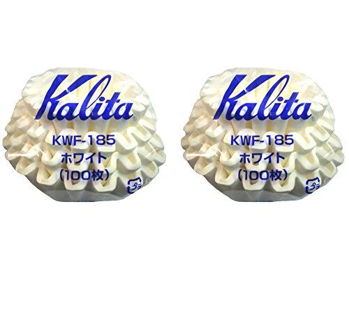 Kalita Wave Serie Wave Filter kwf-185Set von 22–4Personen weiß 100Stück # 22212Neues Modell