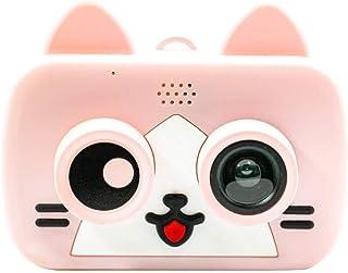 Juguetes Para Niños Cámara Digital Cámara digital Videocámara niños con 2 pulgadas de pantalla IPS de Protección de ojos de tamaño mini regalo for los muchachos de las niñas Cámara Digital Creativo De