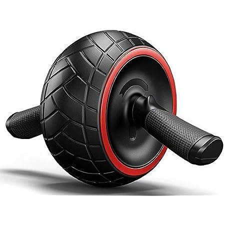 corde de traction avec support TECHNOSMART AB-Roller multifonctionnel lot de 2 roulettes /équipement de musculation abdominaux