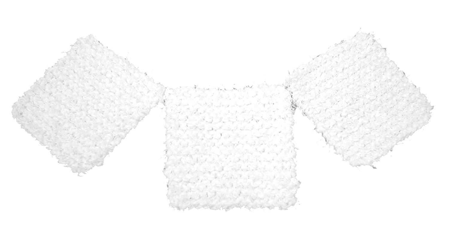 Knit 25% OFF Dish New products world's highest quality popular and Pot 3 White Scrubbers