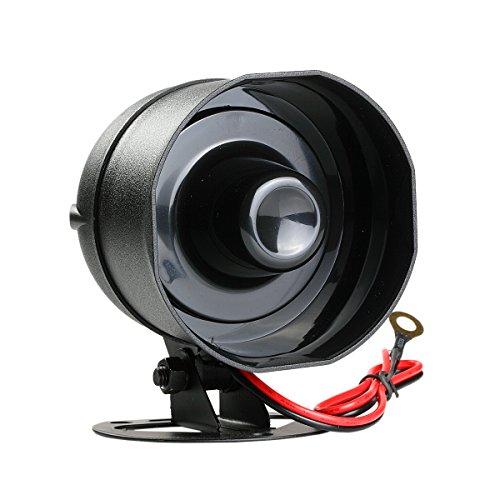 New Small Multi-Tone Universal Car Alarm Security Siren Horn 12V Loud