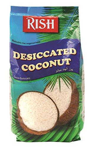 [ 500g ] RISH Kokosraspeln, fein geraspelte Kokosnuss 100% / dessicated coconut