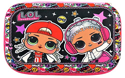 L.O.L. Surprise! Officially Licensed LOL Surprise Pencil Case | Hard Case Molded Pencil Box