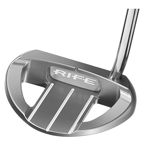 Rife Barbados Belly Putter Left Silver 41