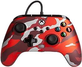 PowerA Xbox Series X Enhanced Wired Controller (Metallic Red Camo)