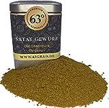 63 Grad - Satay Gewürz - für Satay Sauce oder für Saté Fleischspieße (75g)