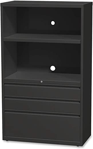 B00P85KD4A✅Lorell Lateral File Drawer Combo Unit, 36-Inch, Black