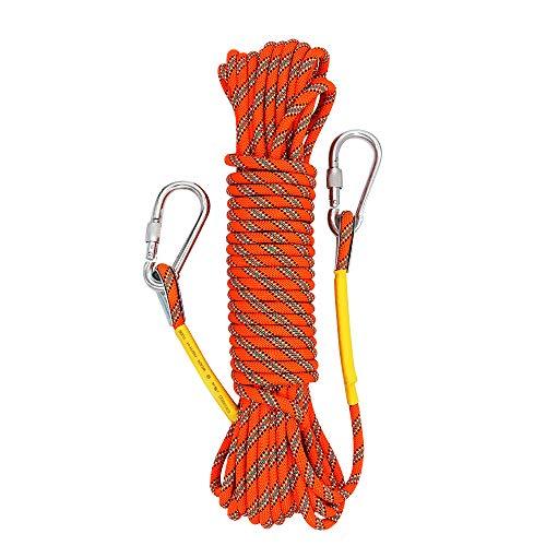 X XBEN Outdoor Climbing Rope 10M(32ft) 20M(64ft) 30M (96ft)...