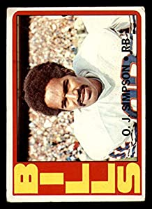 1972 Topps #160 O.J. Simpson Very Good Bills