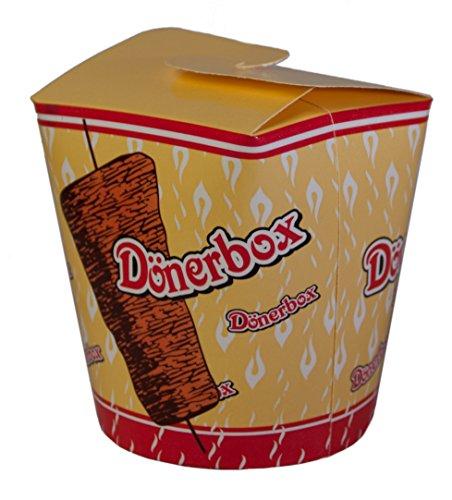 Dönerbox / Kebab - Box (480 ml / 100 Stück) DÖNER TO GO