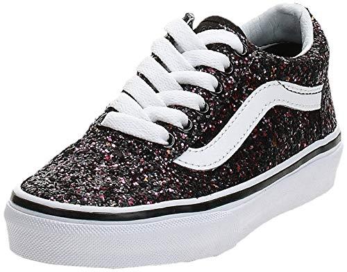 Vans Kids Old SKOOL Glitter Stars Schuh 2019 Black