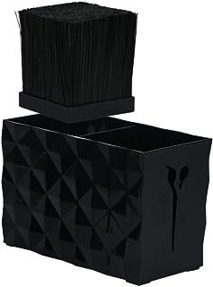 نگهدارنده برش حرفه ای آرایشگاه قیچی مو قفسه ظروف ذخیره سازی قفسه نگهدارنده ابزار آرایش برای سبک
