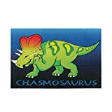 """Dinosaur Chasmosaurus Jigsaw Puzzles 500 Piece for Adults and Kids, 20.5"""" x 14.9"""""""