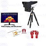 Quanmin AI Intelligent HD Thermal CCTV Camera Auto Alarm+Quick Passing Muti-fuction Infrared Measurement Body Temperatur Use for Office Hotel shoppingmall ect Temperature Fever Screening System