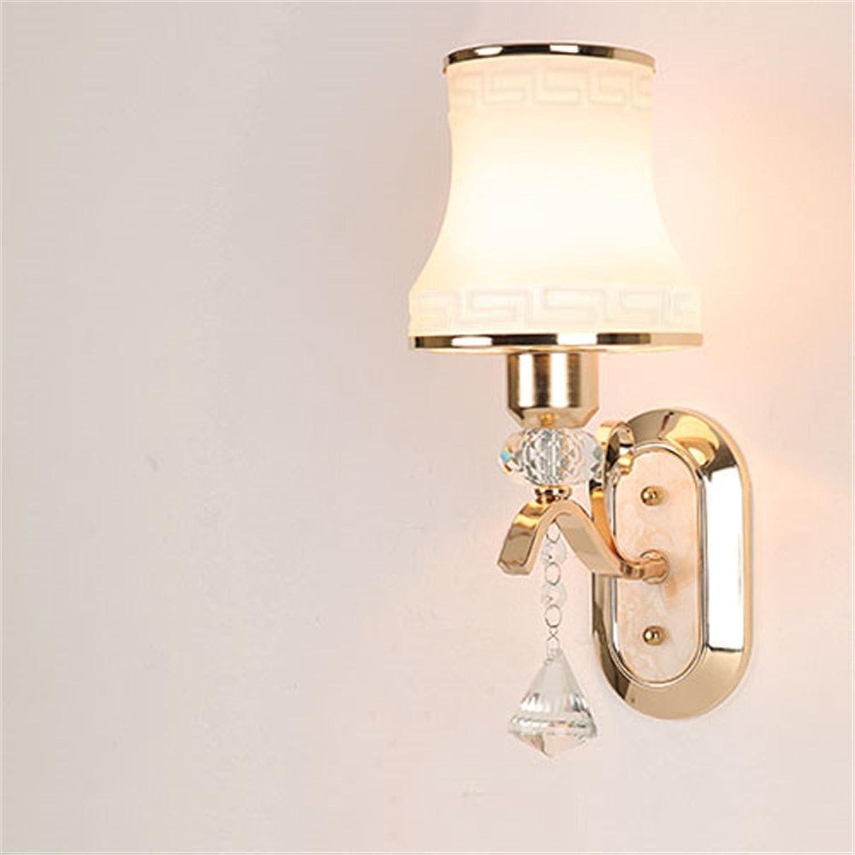 FUXINGXING Europische innere bettseitige Fernbedienung dimmen Wandleuchte minimalistischen kreative Schlafzimmer Wohnzimmer lesen Wand Lampen (ohne Lichtquelle)