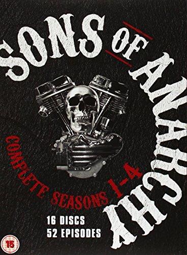 Sons Of Anarchy - Seasons 1-4 (16 Dvd) [Edizione: Regno Unito] [Edizione: Regno Unito]