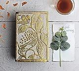 Handgefertigte Teebox aus Holz Wooden Tea Box Keepsake mit 6 Fächern Kaffeebehälter Andenken Teebeutel-Halter für Organizer für Housewarming-Geschenke