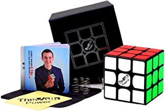 Negro OJIN VALK 3 Power The Valk3 Power Magic Cube 3x3x3 Magic Puzzle Cube 3 Capas de Rompecabezas Liso con Bolsa de Cubo y un tr/ípode de Cubo /único