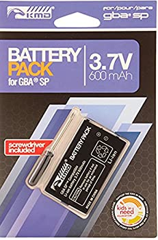 Game Boy Advance SP Replacement Battery Pack for GBA SP  packaging may vary