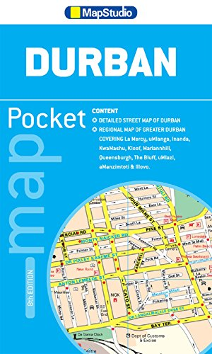Durban pocket tourist map GPS r/v (r) ms