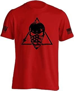 Dion Wear Trinity American Skull Military T-Shirt