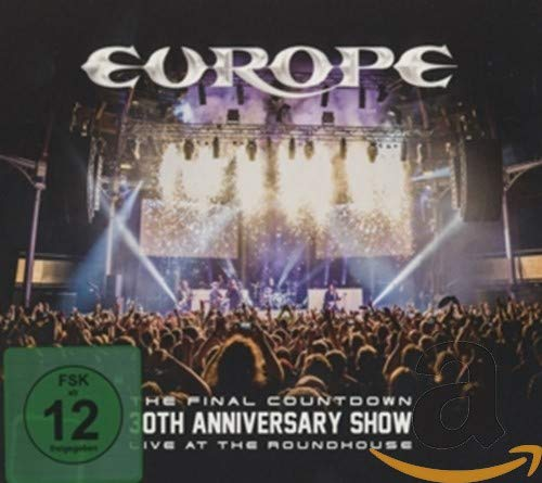 Europe - The Final Countdown 30th Anniversary Show - Live At The Roundhouse [DVD+CD] [2017] [Region Free]