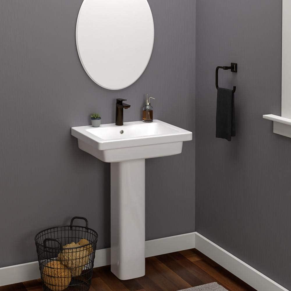Magnus Home Products Aurora 200 Max 73% OFF Vitreous Bathroom Ranking TOP11 Pedestal China