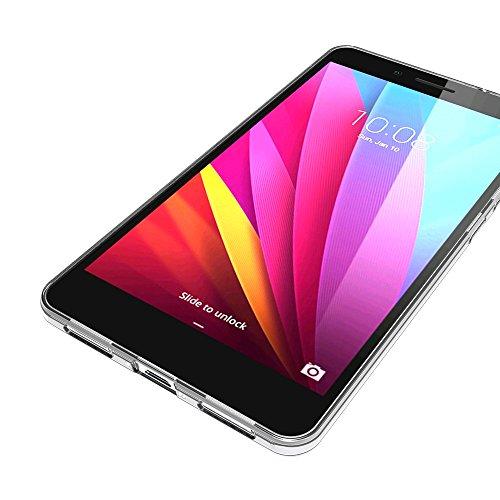 AICEK Huawei Honor 5X Hülle Case, Ultra-Clear Honor 5X Case Silikon Soft TPU Crystal Clear Premium Durchsichtig Handyhülle Schutzhülle Case Backcover Bumper Slimcase für Huawei Honor 5X - 6