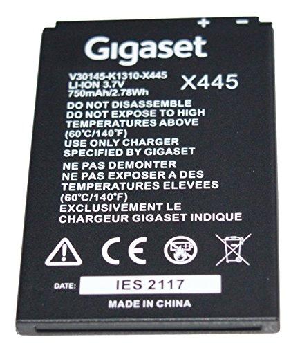 Original Akku Gigaset SL450 SL350 SL400 SL78 SL78H SL780 H V30145-K1310-X445 LI-ION 3,7V 750mAh