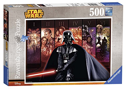 Ravensburger Puzzle 14665 - Star Wars Saga, 500-Teilig