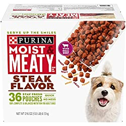 dry dog food with soft pieces