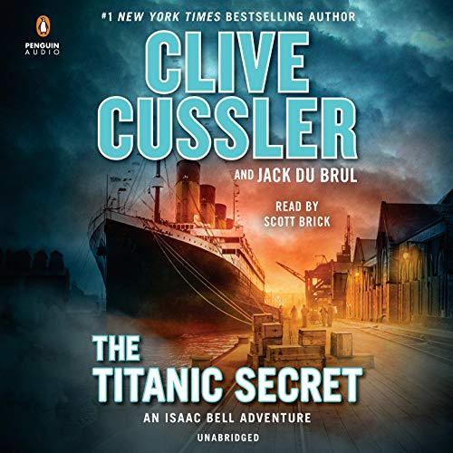 The Titanic Secret audiobook cover art