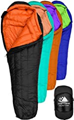 SAVE SPACE and SHAVE WEIGHT with ultralight premium quality 800 fill power goose down filling (superior to synthetic) - nature's best light insulator with the highest warmth-to-weight ratio to beat the cold outdoor winter weather. STAY WARM as a resu...
