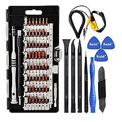commercial Kaisi 70 in1 Precision Screwdriver Set Professional repair tool for 56-bit electronics… phone repair kit