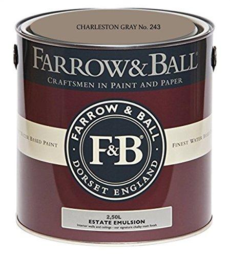 Farrow&Ball EstateEmulsion No 243 Charleston Gray 2.5l