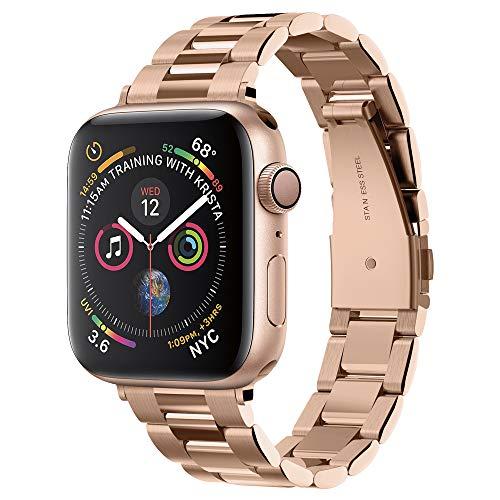 Spigen Modern Fit Cinturino Progettato per Apple Watch 40mm/38mm Series 5/ Series 4/ Series 3/2/1 Cinturino in Metallo - Oro Rosa