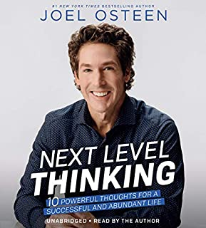 Next Level Thinking audiobook cover art