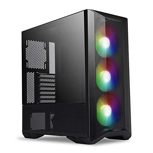 LIAN LI LANCOOL II Mesh RGB LAN2MRX Gehärtetes Glas ATX Gehäuse – Schwarz Farbe – LANCOOL II Mesh RGB – LAN2MRX