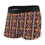 XCNGG Calzoncillos de Ropa Interior para Hombres Calzoncillos Tipo bóxer Men's Boxer Briefs Native American Pattern3