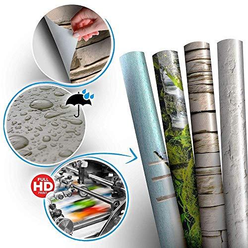 3D Deurfolie Deurfolie Creative Deurstickers Bos Natuur Patroon Pvc Zelfklevend Behang Woondecoraties Muurschilderingen-As_Shown_85X215Cm