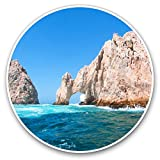 Awesome Vinyl Stickers (Set of 2) 7.5cm - The Arch of Cabo San Lucas Fun Decals for...