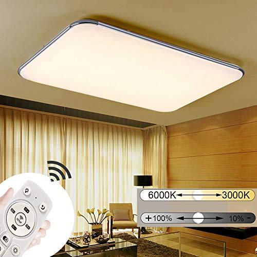 JINPIKER 72W Dimmbar Ultradünn LED Deckenleuchte Flur Wohnzimmer Küche Deckenleuchten Badleuchte LED Deckenlampe Energieeinsparung und Umweltschutz