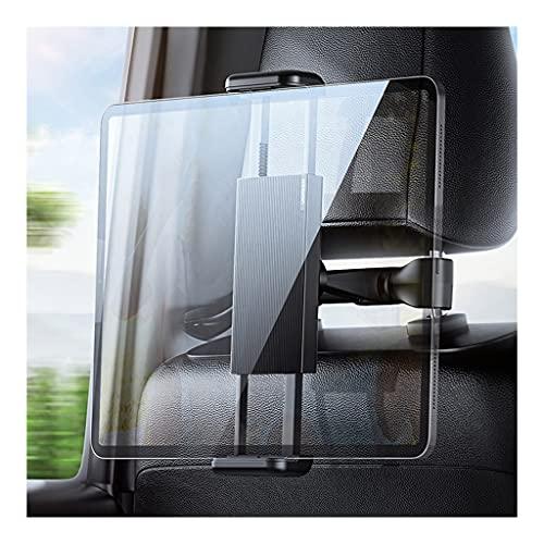 DXIUMZHP Soporte Coche Movil Soporte del iPad De La Tableta del Asiento De Carro, Tenedor del Teléfono Móvil del Respaldo del Coche, Desmontaje Y Montaje Rápidos, Ajuste De 360 ° (Color : Black)