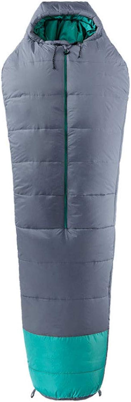DGB Frühling Und Herbst Tragbare Öffnung Und Und Und Schließen Warmer Wasserdichter Mummy Baumwoll Schlafsack B07MQ4131F  Attraktive Mode 18916f