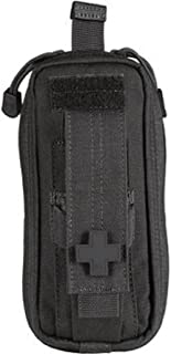 "5.11 Tactical Compact MOLLE Med Pouch, 3""x 6"", SlickStick Compatible, Hot-Pull tab, First Aid Pockets, Water Resistant Nylon EDC Kit, Style 56096"